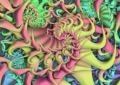 Digital Art - Dimension Remix by Vitaly Mishurovsky