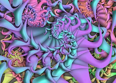 Digital Art - Dimension by Vitaly Mishurovsky