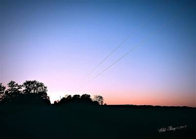 Photograph - Disappearing Lines by Wild Thing