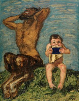 Fertility Symbols Wall Art - Painting - Dissonance by Franz von Stuck
