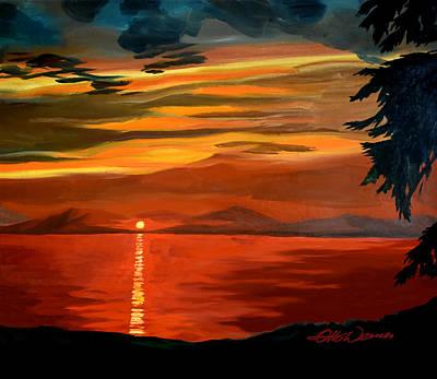 Distant Sunset Original