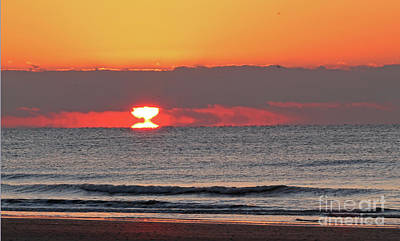 Photograph - Distorted Sunrise by Kevin McCarthy