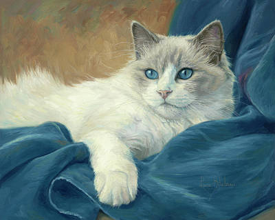 Painting - Diva by Lucie Bilodeau