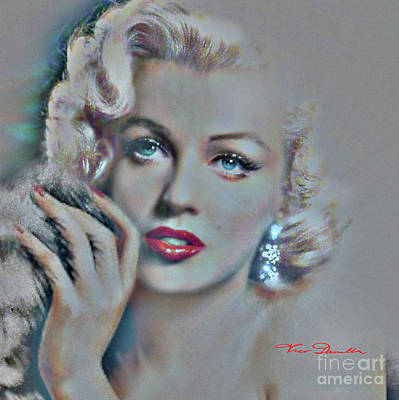 Painting - Diva Mm Glam by Theo Danella