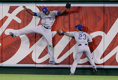 Photograph - Division Series - Kansas City Royals V by Jeff Gross