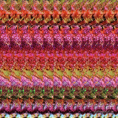 Digital Art - Dna Autostereogram Qualias Gut 2 by Russell Kightley