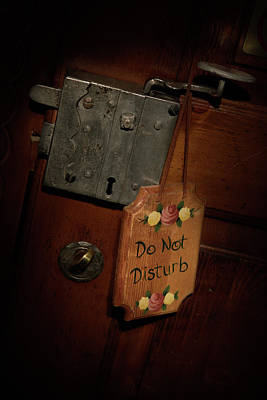 Photograph - Do Not Disturb by David Andersen