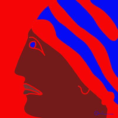 Digital Art - Do-rag by Jeff Quiros