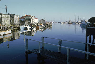 Photograph - Dock In Menemsha Pond by Alfred Eisenstaedt