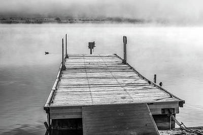 Photograph - Dock In Winter by Joseph S Giacalone
