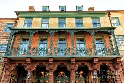 Photograph - Dock Street Theater In Charleston by John Rizzuto