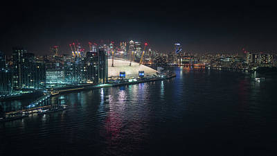 Photograph - Docklands By Night by James Billings