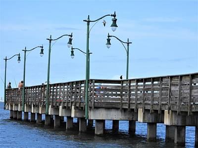 Impressionist Landscapes - Dockside by Art Dingo