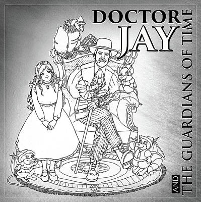 Digital Art - Doctor Jay Guardians Of Time by Reynold Jay