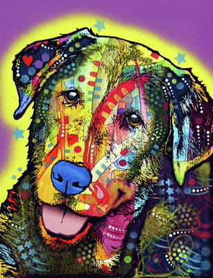 Painting - Dog by Dean Russo Art
