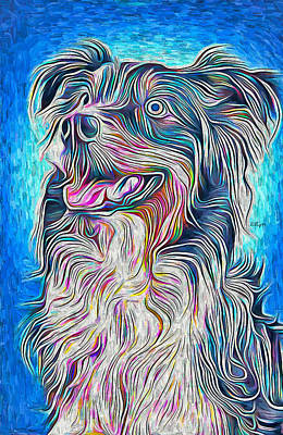 Science Collection - Dog portrait 3 by Nenad Vasic