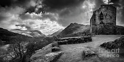 Photograph - Dolbadarn Castle Llanberis by Adrian Evans