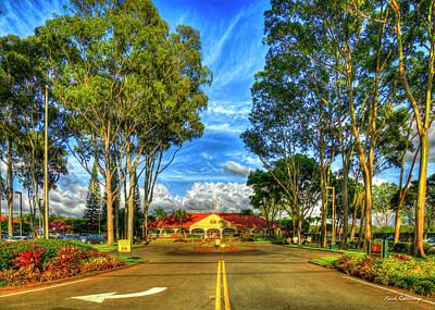Photograph - A Beautiful Day 2 Dole Plantation Wahiawa Oahu Hawaiian Art by Reid Callaway