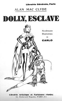 Drawing - Dolly Esclave by Carlo