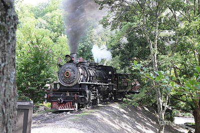 Antique Maps - Dollywood Express by Dwight Cook
