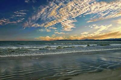Photograph - Dollymount Strand Sunrise by Anthony Dezenzio