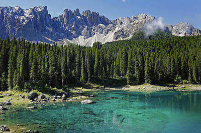 Photograph - Lake Karersee by Images Unlimited