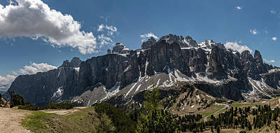 Photograph - Dolomites - Puez Geisler National Park by Julia Art