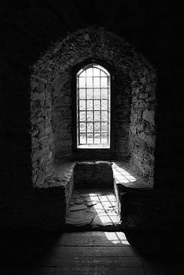 Sean Rights Managed Images - Dolwyddelan Castle Window Royalty-Free Image by John McGraw