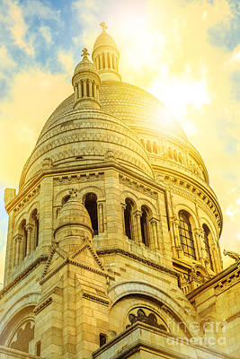 Photograph - Dome Of Sacre Coeur by Benny Marty