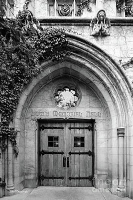 Photograph - Dominican University Lewis Hall Doorway by University Icons