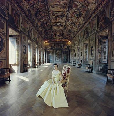 Photograph - Domitilla Ruspoli by Slim Aarons