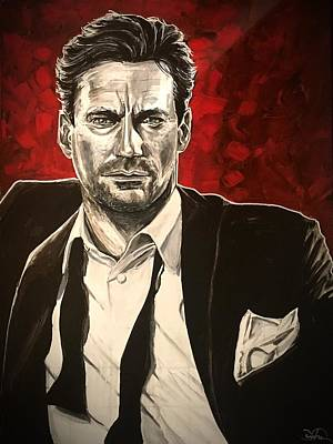 Painting - Don Draper by Joel Tesch