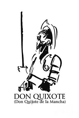 Stellar Interstellar - Don Quixote by BlackLineWhite Art