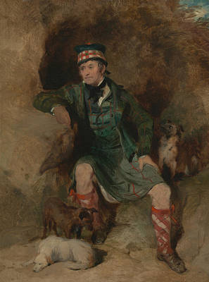 Painting - Donald Mcintyre by Edwin Landseer