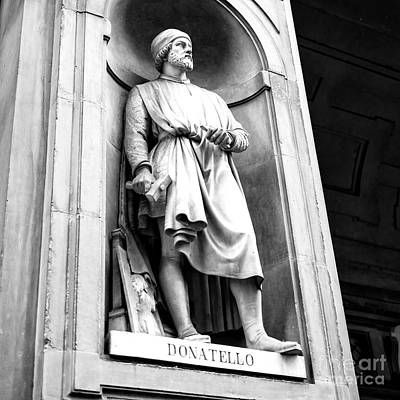 Photograph - Donatello Uffizi Gallery Florence by John Rizzuto