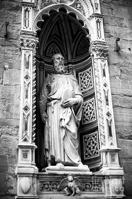 Photograph - Donatello's Saint Mark At The Orsanmichele In Florence by John Rizzuto