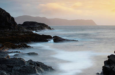Photograph - Donegal-Sunset-Horn Head by Peter McCabe