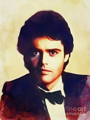Music Paintings - Donny Osmond, Singer by Esoterica Art Agency