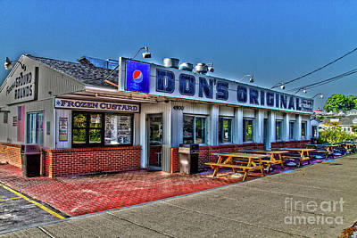 Photograph - Dons Original by William Norton