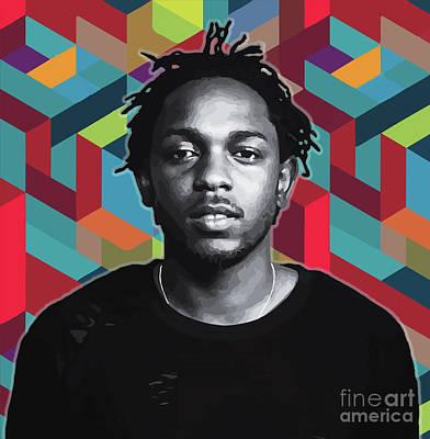 Painting - Don't Kill My Vibe Kendrick by Carla B
