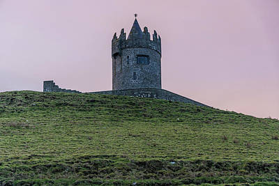 Photograph - Doonagore Castle Ireland  by John McGraw
