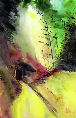 Painting - Door 3 by Anil Nene
