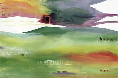 Painting - Door 4 by Anil Nene