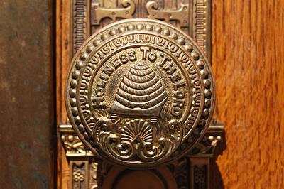 Modern Man Surf - Door Handle of the Salt Lake Temple by Jared Davies