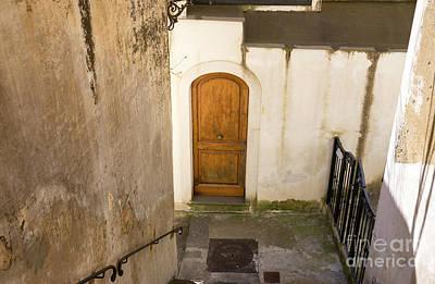 Photograph - Door In Positano by John Rizzuto