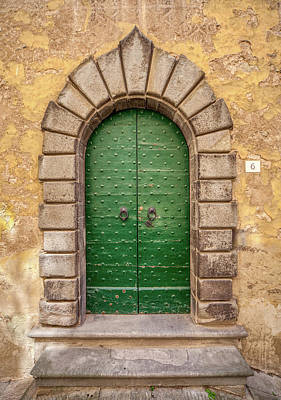 Photograph - Door Six Of Cortona by David Letts