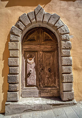 Photograph - Door Thirty Two Of Tuscany by David Letts