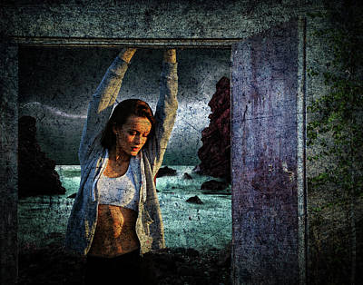 Digital Art - Door To Reality by Galatia420