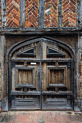 Photograph - Door To The Past by Chris Buff