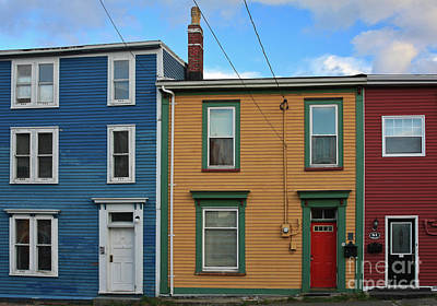 Photograph - Doors And Windows In St. Johns Newfoundland by Tatiana Travelways